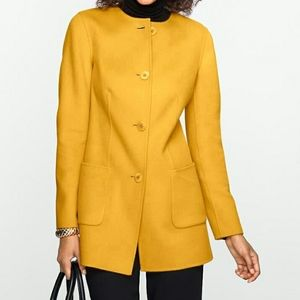 TALBOTS Long Wool Jacket